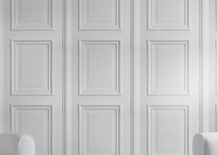 les 25 meilleures id es concernant boiserie blanche sur pinterest boiserie en bois blanche. Black Bedroom Furniture Sets. Home Design Ideas