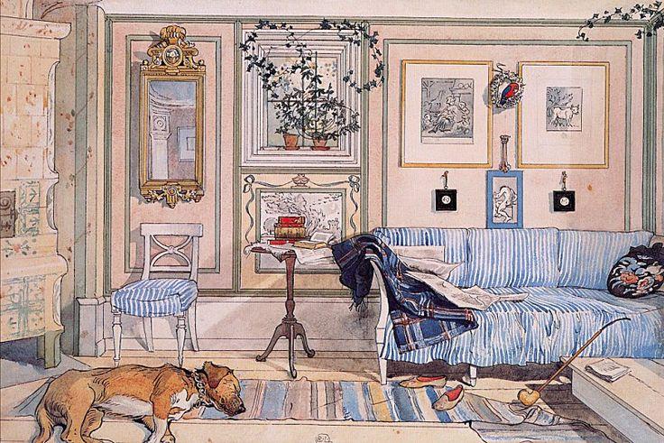 Уютный уголок, 1894-97. Карл Ларссон