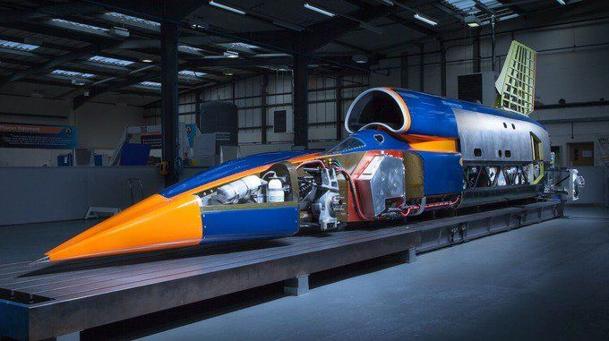 Bloodhound SSC guns for the land speed record with 1000mph target