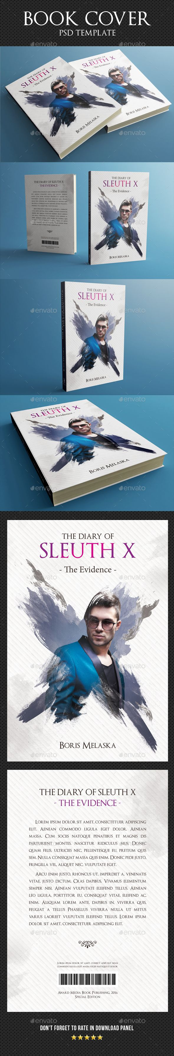 8 best book cover template design images on pinterest book covers