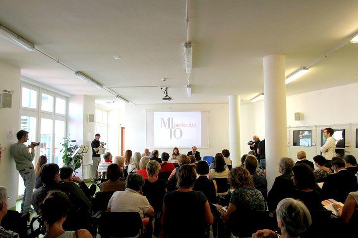 Conferenza stampa MITO per la Città: l'assessore alla Cultura Maurizio Braccialarghe e Angela La rotella, Segretario generale della Fondazione per la Cultura Torino #MITO14