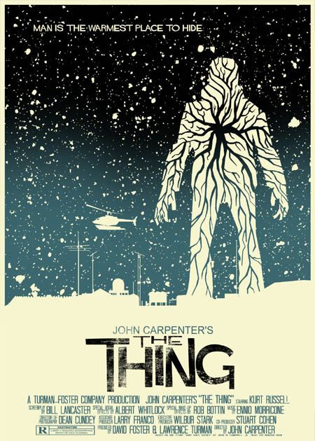 Rad poster for The Thing! Catch a special screening of The Thing presented by Cult Classics & Zia Records on June 21st! Tickets on sale now at all Valley Zia stores!