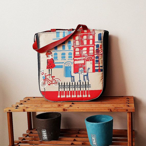 Check out this item in my Etsy shop https://www.etsy.com/listing/204431504/retro-girls-print-tote-bag-large-purse
