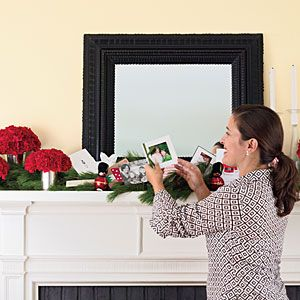 Create a fragrant and festive mantel with simple greenery and affordable flowers. Contributing decorating expert Elizabeth Mayhew shows you how.