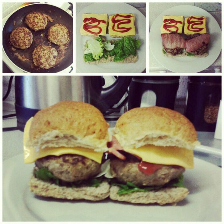Slimming World Burgers Recipe | Bacon, Cheese burger and World