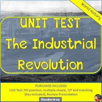 history study guide industrial rev and Page 1 thomas ladenburg, copyright, 1974, 1998, 2001, 2007 tladenburg@verizonnet chapter 1 the industrial revolution he word 'revolution' implies a.