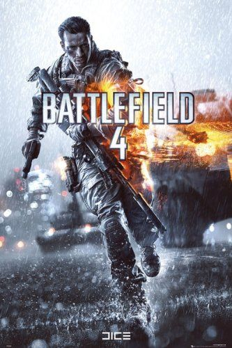 Battlefield 4 - Key Art Video Game Poster $4.20 (70% OFF)