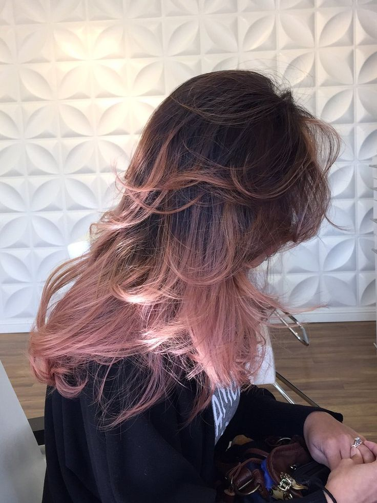 Beauty By Alissa - Oakland, CA, United States. Baby pink balayage - $180                                                                                                                                                                                 Mais