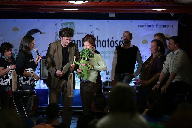 FN6 díjátadók: a legjobb kiállító a Felelős Gasztrohő, akiknél a mi elviteles csomagolás plakátunk is ott volt
