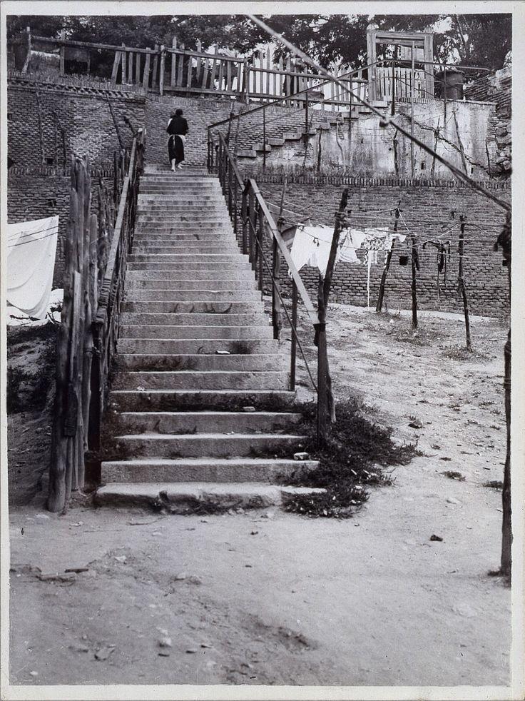 lavadero en el Manzanares Fecha: 1933 Lugar: Madrid
