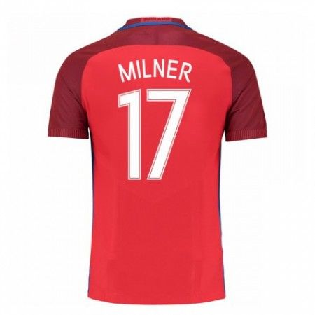 England 2016 James Milner 17 Borte Drakt Kortermet.  http://www.fotballteam.com/england-2016-james-milner-17-borte-drakt-kortermet.  #fotballdrakter