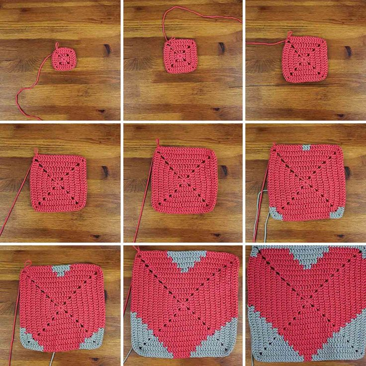 This free crochet pillow pattern with a modern heart makes a perfect DIY gift idea. Square cushion pattern includes written instructions, photo tutorial and…