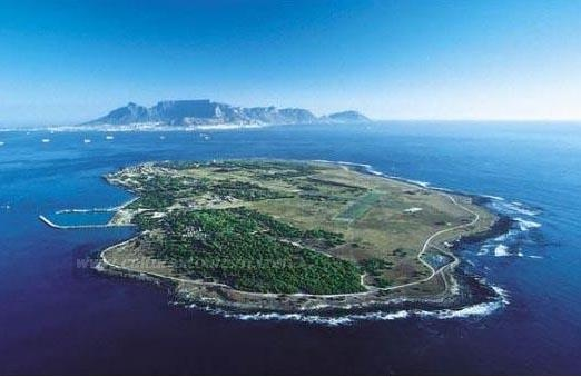 Robben Island in Table Bay