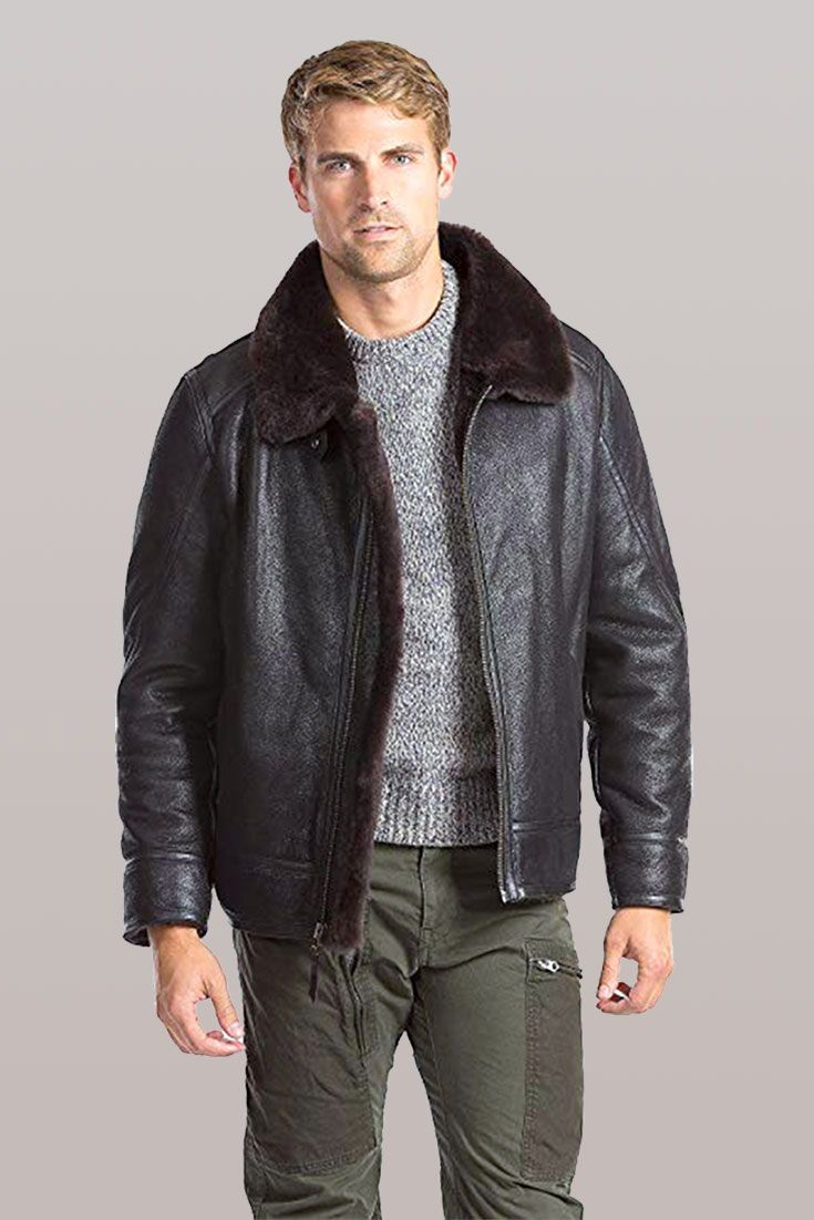 6 Best Men S Shearling Jacket That S Stylish Cool And Worth Every Penny Mens Shearling Jacket Mens Jackets Mens Outfits [ 1102 x 735 Pixel ]