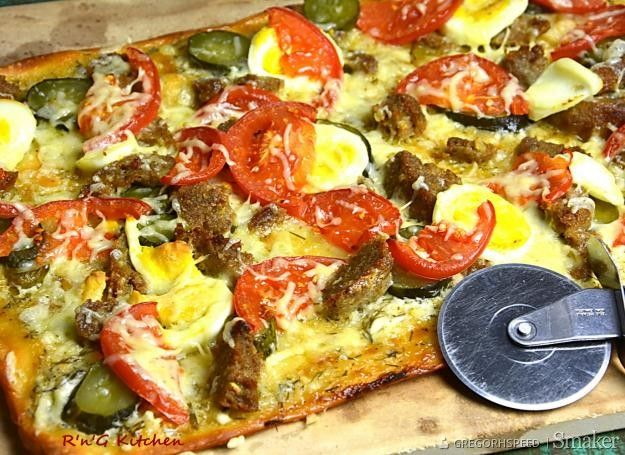 Pizza No Waste Przepis Ze Smaker Pl Recipe Pizza Food Vegetable Pizza
