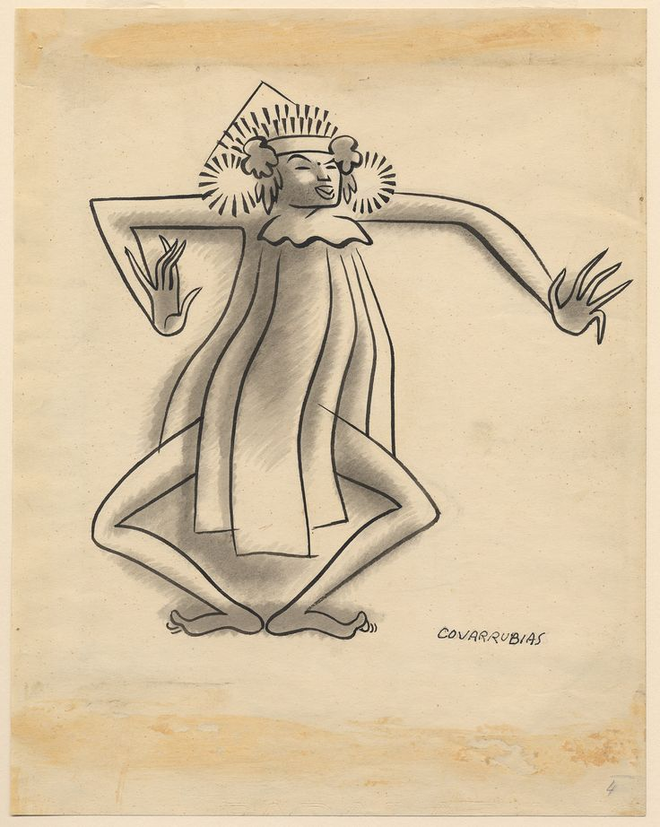 Movements of the Baris / Miguel Covarrubias