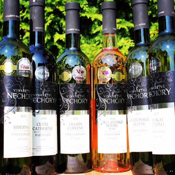 Nechory winery 2015 collection