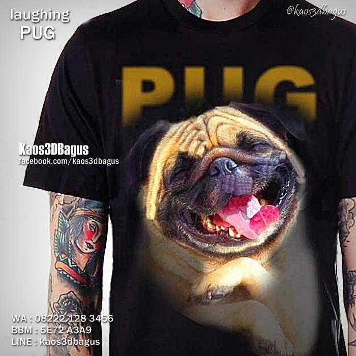 Kaos PUG, Kaos Gambar ANJING, Kaos DOGGY, Kaos PUPPY, Kaos ANJING PUG, Kaos DOG LOVER, Kaos ANIMAL LOVERS, Kaos3D, Kaos BINATANG, https://instagram.com/kaos3dbagus, WA : 08222 128 3456, LINE : Kaos3DBagus