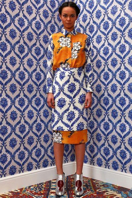 Tata Naka, Fall 2014 #prints #fashion #patterns