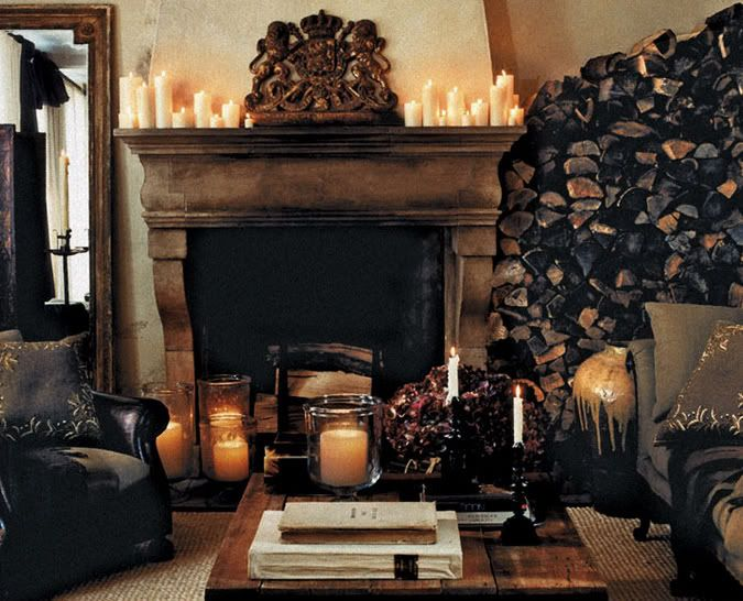 Living Room By Ralph Lauren. A Cozy Country Retreat From Ralph Lauren Home.  Artfully Arranged Firewood Is At The Ready, In A Living Room Inspired By A  Warm ...