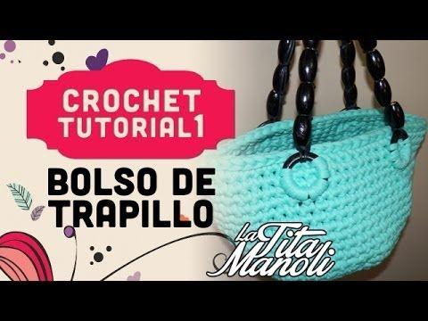 TUTORIAL BOLSO DE TRAPILLO