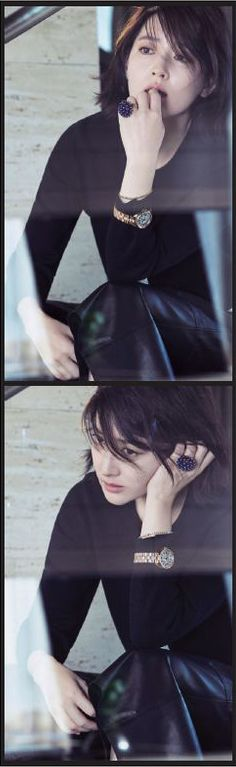 """Lee Young Ae (이영애, Korean Actress) on Campaign of Magazine """"Nobless"""""""