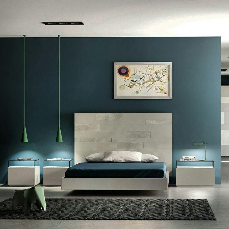 Bedrooms with glass and lacquer drawers with ceramic heads.  Dormitoris amb calaixeres de vidre i laca amb capçals ceramics a @ismoble de #Granollers.  #design #diseño #disseny #bedroom #dormitorio #habitacion #room #interiorismo #interior #interiordesign #barcelona #dormitori #llit #cama #bed #nordic #bcn #catalunya