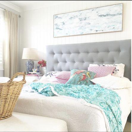 Jasper Upholstered Bedhead   Custom Made