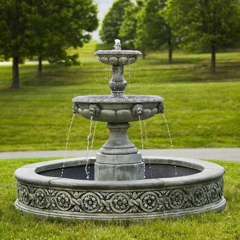The Types Of Large Outdoor Water Fountains .For More Information Visit On  This Website Https