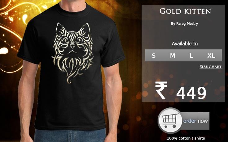 Golden Kitten at http://www.keedamania.com/KMShop.aspx