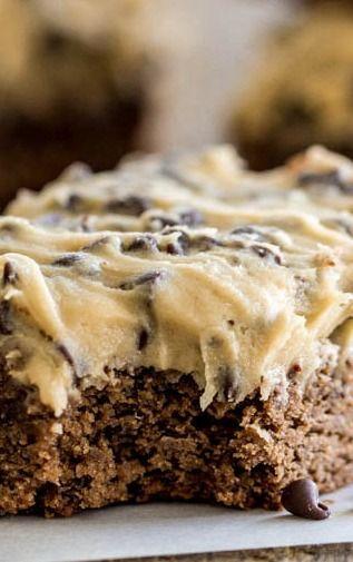 Cookie Dough Brownies Recipe ~ Amazing!