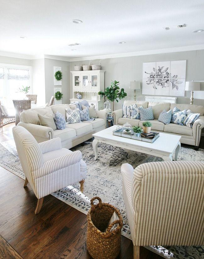 Three Simple Wall Of Art Ideas Thistlewood Farm Farm House Living Room Big Living Rooms Interior Design Living Room