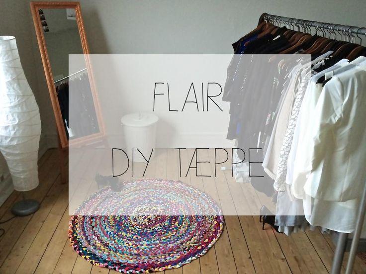 flettet tæppe, braided rug, diy, gamle t.shirts, re-design