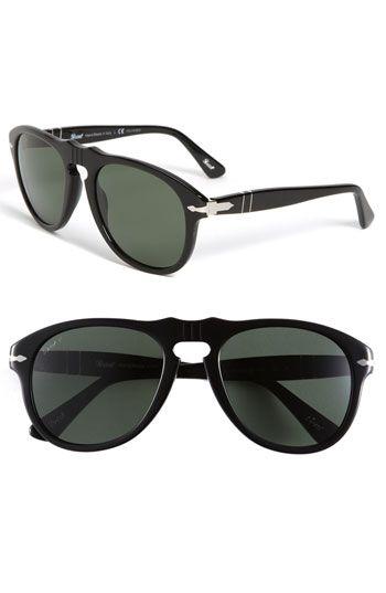 Persol 54mm Polarized Keyhole Retro Sunglasses | Nordstrom
