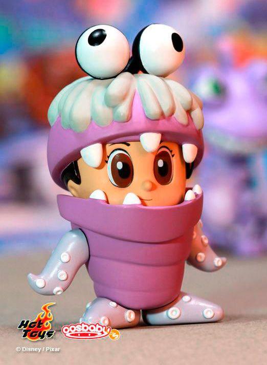 Minifigura Cosbaby Boo monstruo 8 cms. Monstruos University. Hot Toys