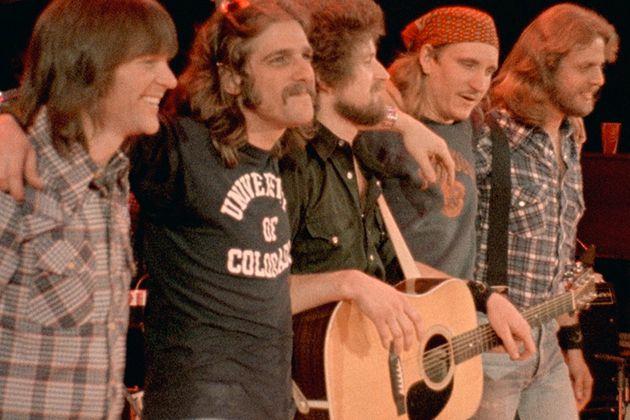 glenn frey / the eagles / 1977 / university of colorado / cu / boulder / college / buffs