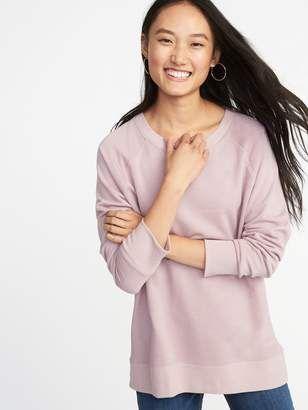 25d0e7c1121 ShopStyle  Old Navy French-Terry Boyfriend Sweatshirt for Women ...