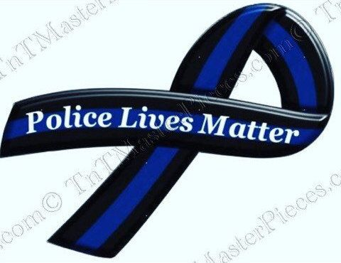 TNT122 Police Lives Matter / Thin Blue Line by TnTMasterpieces