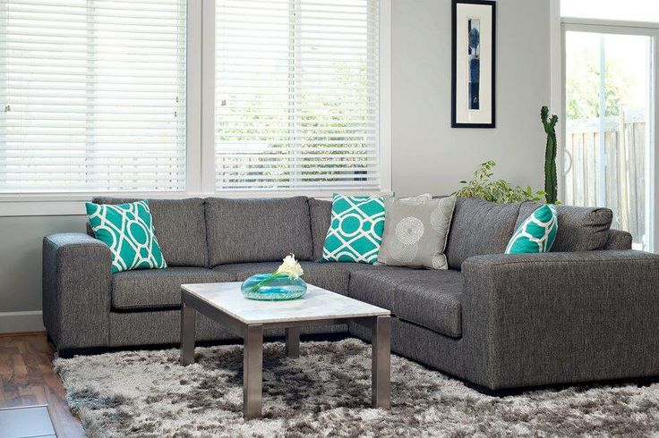 The Jacob Sectional looking ever so comfortable in a space created by The Spotted Frog Furniture Co.!