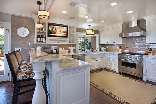 25 Best Ideas About Tv In Kitchen On Pinterest Small