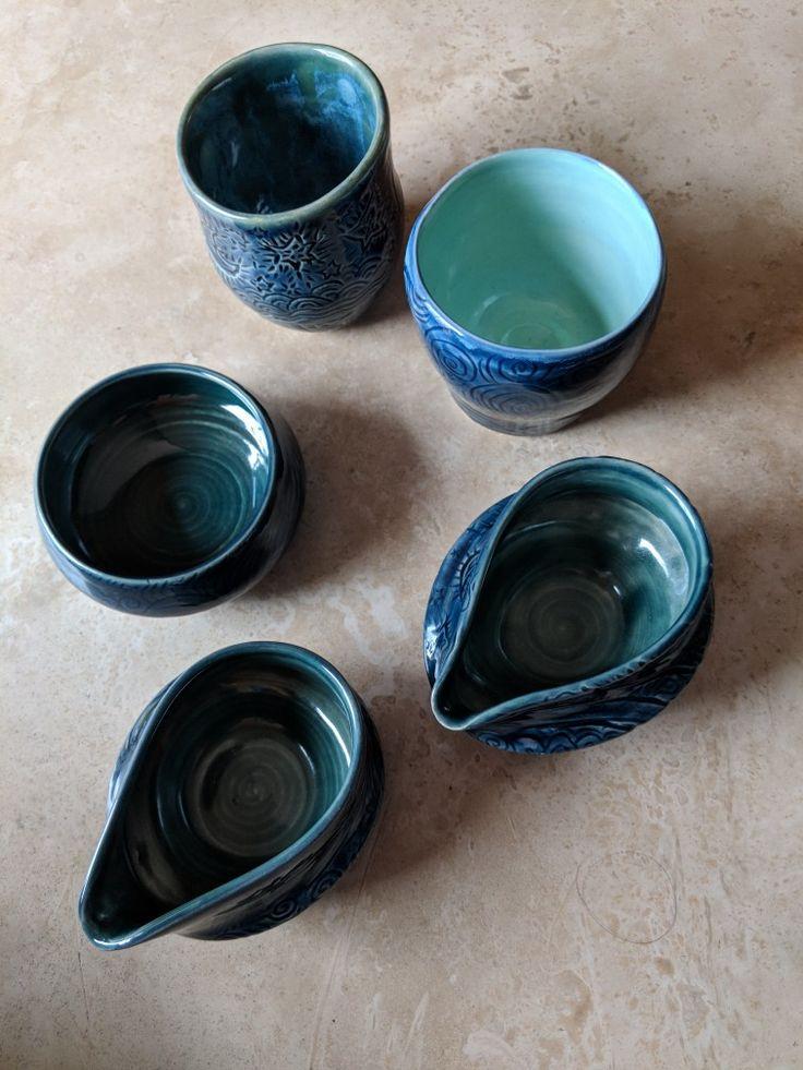 Little jugs for Sharon. By Rachel Youngman 2017