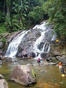 Kota Tinggi Waterfalls is a famous attraction in Kota Tinggi, Johor, Malaysia.