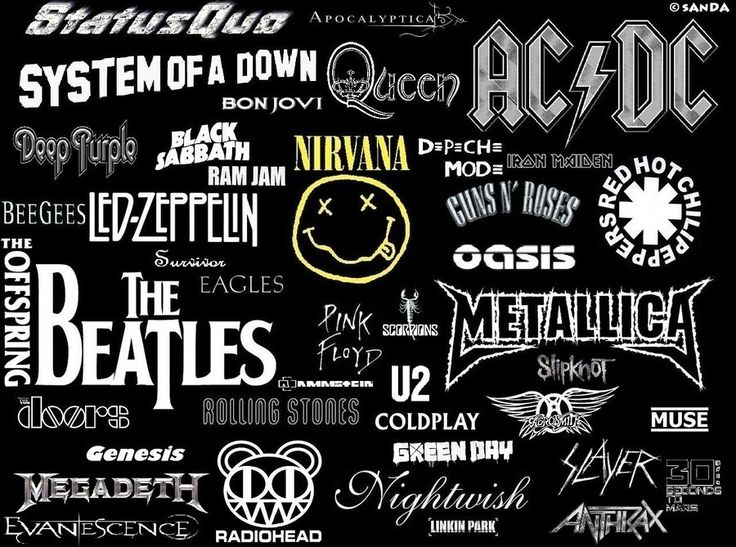 All my bands!!! <3 <3 <3 What's you'r favorite band?