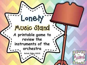 Lonely Music Stand: An Instruments of the Orchestra Game (scheduled via http://www.tailwindapp.com?utm_source=pinterest&utm_medium=twpin&utm_content=post7110164&utm_campaign=scheduler_attribution)