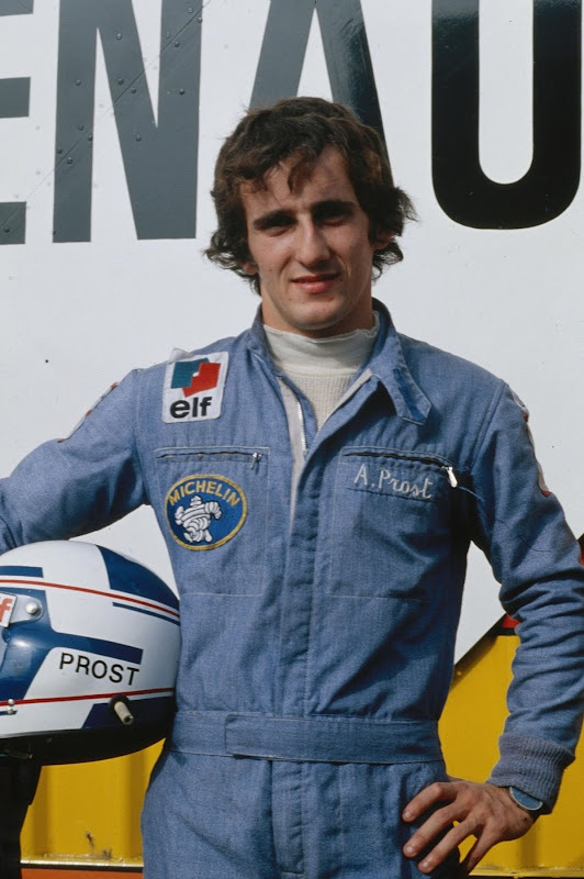 F1 CHAMP ALAIN PROST AT RENAULT - The Professor