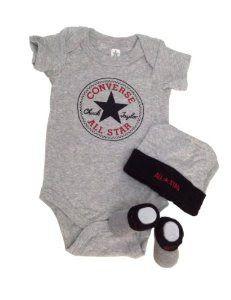 Toko Sepatu Anak Perempuan Online - Converse Bayi Bodysuit, Booties & Cap 3 Pcs Setooties & Cap 3 pcs Set... | Pusat Sepatu Bayi Terbesar dan Terlengkap Se indonesia
