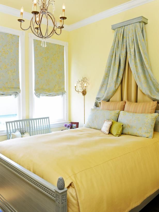 81 best Yellow bedrooms images on Pinterest | Paint colors, Wall ...