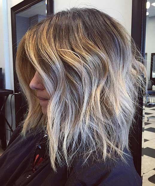 Easy Lob Haircuts Ideas For Summer 2018 2019 Hair Pinterest