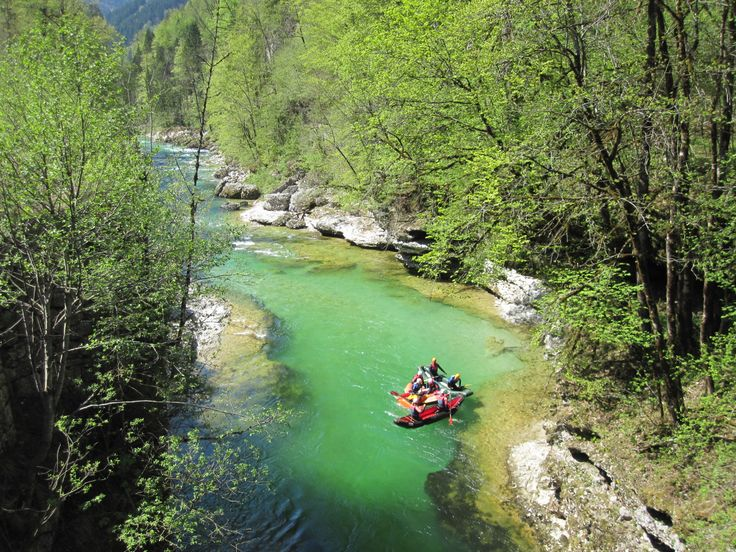 Palfau in #Austria is a breathtaking place to go rafting on the Salzer river.