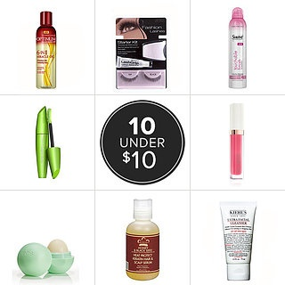 Best Drugstore Beauty Products Under $10 - includes travel-sized products! :)